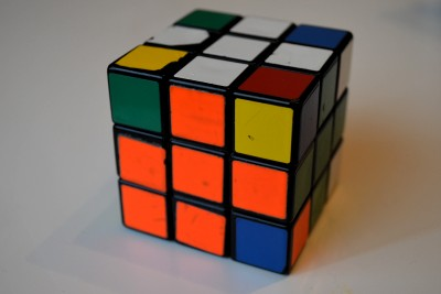 how to solve 2 sides of a rubix cube